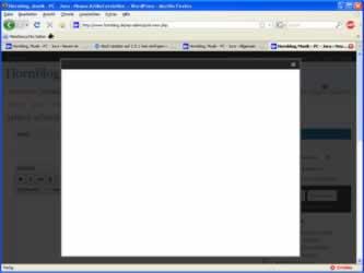 Fehler WordPress Bilder einfügen weißes Fenster