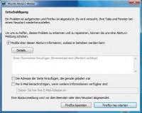 Firefox 3 Absturz unter Vista